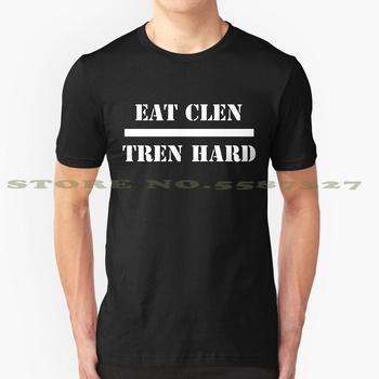 Eat Clen Tren Hard Summer Funny T Shirt For Men Women Steroids Gear Juice Weights Weightlifting Fitness Bodybuilding Muscle image