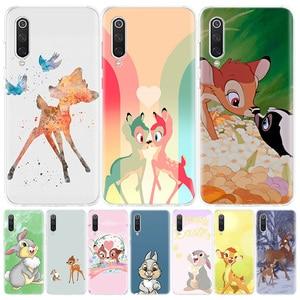 Bambi Thumper чехол для телефона Xiaomi Redmi Note 9S 8T 8 7 8A 7 7A 6A 4X S2 K20 K30 MI 9 8 CC9 F1 Pro Модный чехол