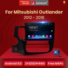Junsun Android 10.0 Multimedia Video Player Navigation GPS Radio For Mitsubishi Outlander XL 2012 2013 2014 2015 2016 2017 2018