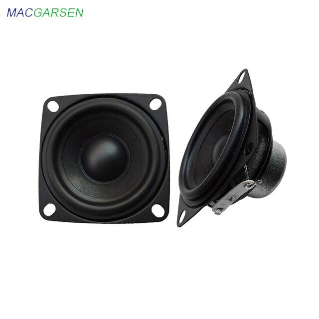 2 Inch Audio Full Range Computer TV Speaker 4 Ohm 10W PC Sound Bluetooth DIY Soundbox 53mm HIFI Music Portable Loudspeaker 2pcs 1