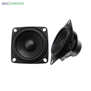 Image 1 - 2 Inch Audio Full Range Computer TV Speaker 4 Ohm 10W PC Sound Bluetooth DIY Soundbox 53mm HIFI Music Portable Loudspeaker 2pcs