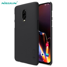 for Oneplus 6T Cover for oneplus 6t Case Original NILLKIN Super Frosted Shield Matte PC back cover case for one plus 6t + gift