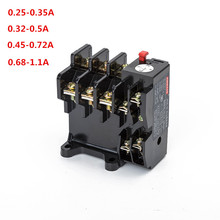 Thermal overload relay JR36-20 690V specification 0.35/0.5/0.72/1.1A high quality copper parts thermal overload protection relay lr2 33 65a 48 65a 3 phase 1no 1nc electric thermal overload relay