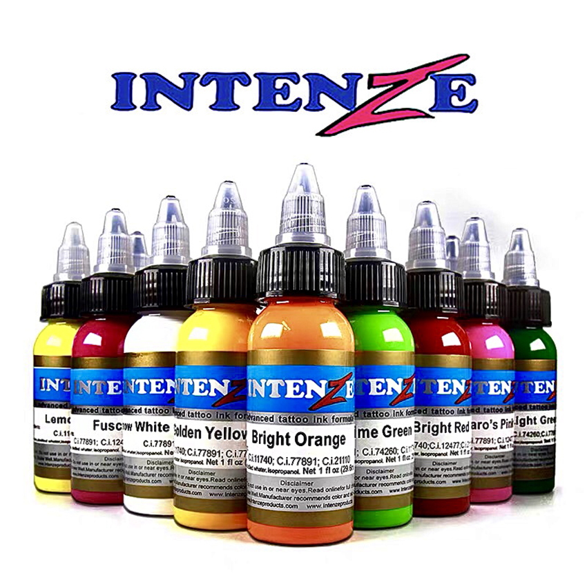 14 Color Pigment Set 30ml / Bottle Of Tattoo Ink, For Human Body Permanent Painting Tattoo Color Pigment Tattoo Supply
