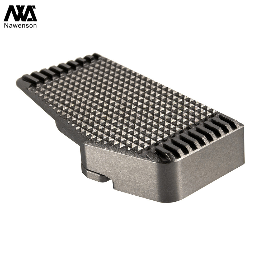 Motorcycle Accessories Rear Brake Lever Enlarger Plate CNC Aluminum Brake Pedal Widening Base for <font><b>BJ600</b></font> <font><b>BN600</b></font> TNT600 image