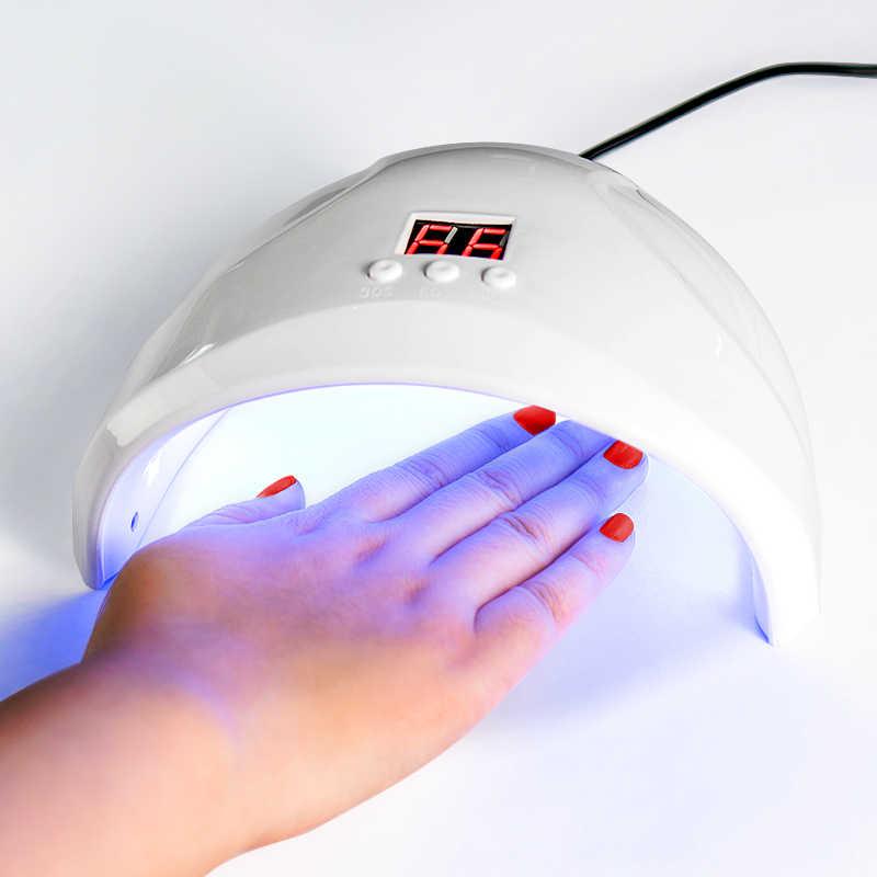 Mtssii Nail Set Ha Condotto La Lampada Uv Dryer con 6 Pcs Smalto Del Gel Del Chiodo Kit Soak Off di Lunga Durata per Unghie manicure Set di Strumenti di Unghie Artistiche