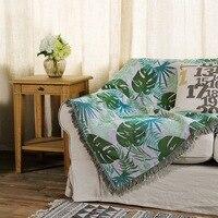 Tampa Do Sofá Double Sided Cobertor Tapeçaria INS Comércio exterior Hot Cobertor Da Linha Jacquard Artesanato Tapeçarias| |   -