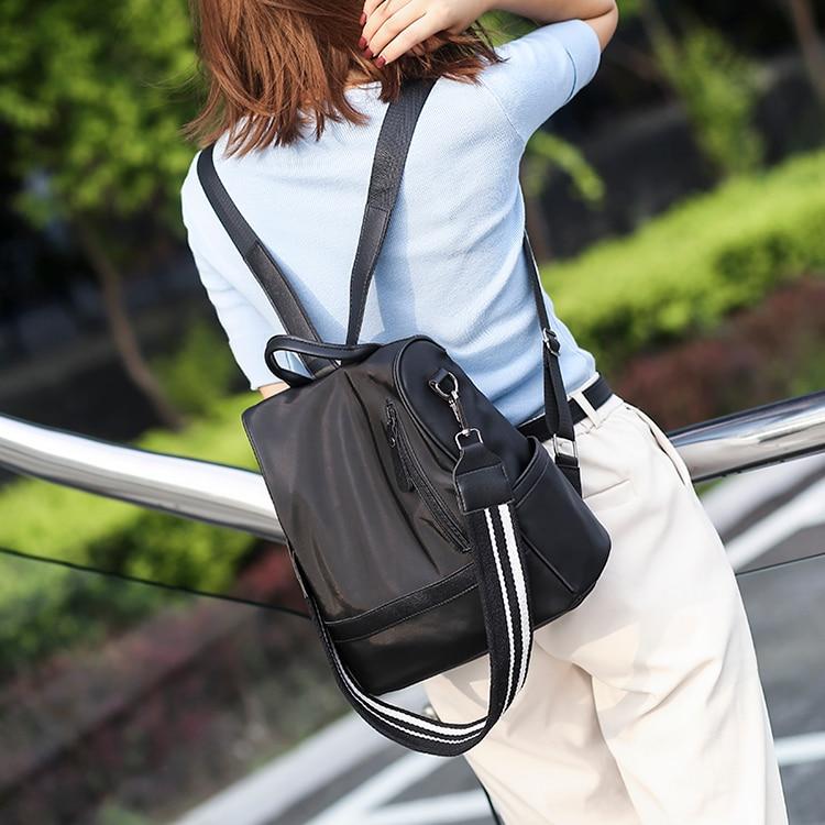 Haa576db58b714736b3aa2815334c98c6B Anti-theft women backpacks ladies large capacity backpack high quality bagpack waterproof Oxford women backpack sac a dos