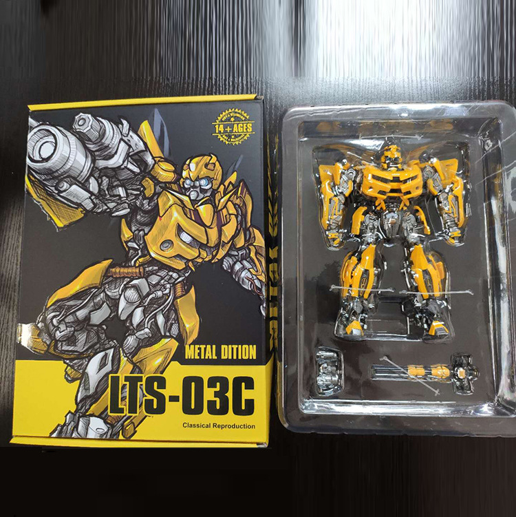 NEW Legendary Transformation LT01 LT-01 LTS-03C Yellow Bee MPM-03 MPM03 Alloy Movie Upgade KO Action Figure Toys With Box