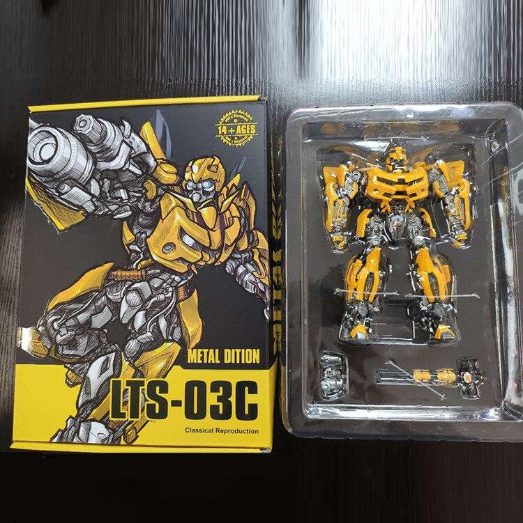 Transformation LT01 LT01B Bee Black Assemble Kit Warrior Action Figure In Stock
