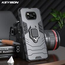 KEYSION Shockproof Armor Case for Xiaomi POCO X3 NFC F2 Pro