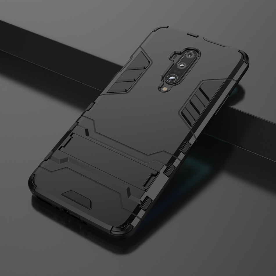 For <font><b>Oneplus</b></font> 3 3T One plus 5 <font><b>5T</b></font> 6 6T One Plus7 7T Pro Luxury Hybrid Shockproof fashion Armor Rugged Hard <font><b>Case</b></font> Stand Cover Coque image