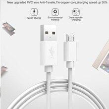 Кабель Micro USB для зарядки и передачи данных, провод для Android, зарядное устройство, шнур 2/3 метра, Usb-кабель, кабель для Xiaomi Redmi 4, Note 6, 5 Pro