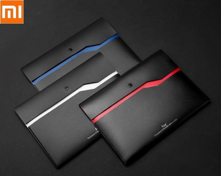 Xiaomi Fizz Color Double-layer File Bag 6pcs Double-layer Pocket Document Storage Bag