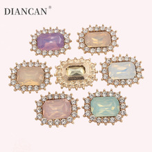 Rhinestone Applique Decorative Strass Stones and Crystals for Handmade Bowknot Embellishment
