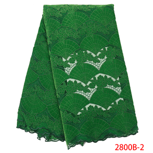 Image 4 - Wholesale Velvet Lace Fabrics New Arrival Fashion African Lace Fabric for Wedding Party High Quality Nigerian Mesh Lace APW2800B