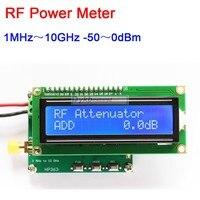 Dykb 디지털 rf 전력계 1 mhz ~ 10 ghz 50 ~ 0dbm rf 신호 측정기 모듈 rf 전력 감쇠 값 설정 가능|배터리 액세사리|가전제품 -