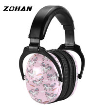 Пассивные наушники zohan nrr26db с шумоподавлением защитные