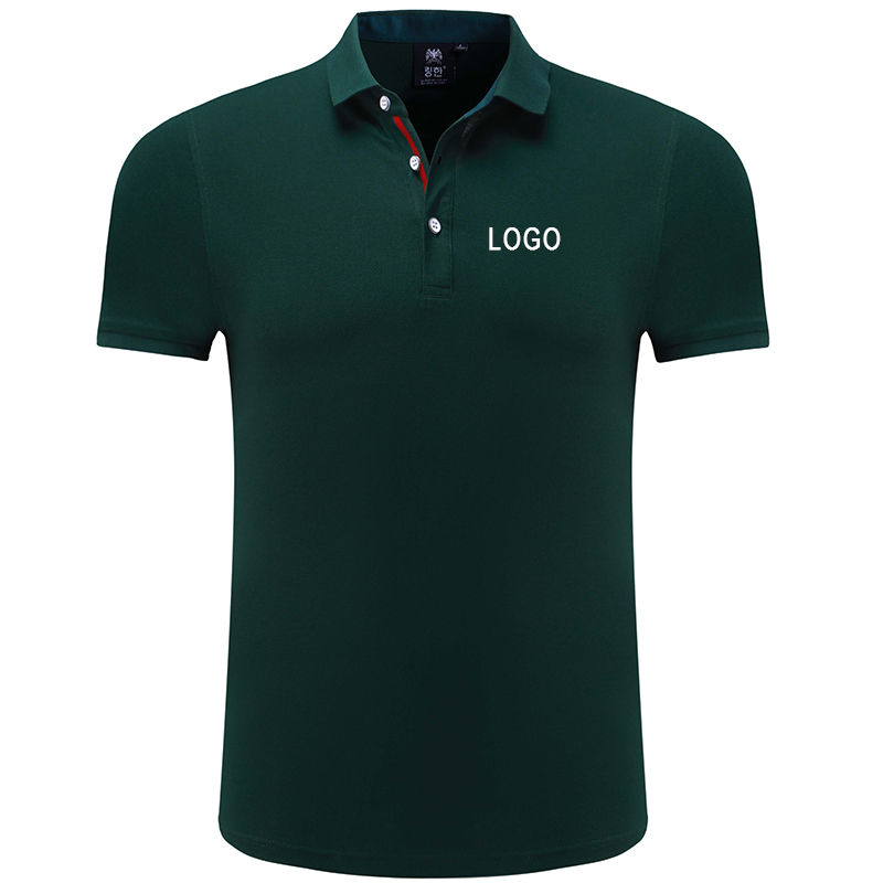 Custom Printing DIY Personalised Polo Shirt Full Color Text Logo Print Work Uniform Workwear Company