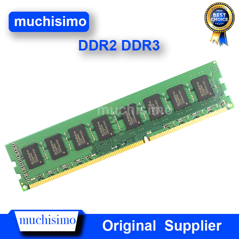 Memory RAM DDR3 <font><b>DDR2</b></font> 4GB 8GB 2GB 677 800 <font><b>1066</b></font> 1333 1600MHz PC Computer Desktop Memoria 240pin New DIMM Fully compatible System image