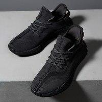 Summer Hot Sale Breathable Flyknit Sport Runing Men Shoes Original black UltraBoost Trainers Sneaker zapatillas hombre deportiva