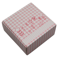 DHL 200pcs/lot Wholesale Party Gift Craft Packaging Kraft Paper Box Handmade Soap Jewelry Packing Candy Chocolate Boxes Supplies