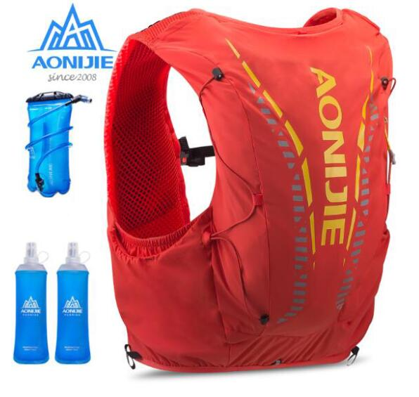 AONIJIE 12L Hydration Backpack Men Women Advanced Skin Running Vest Pack Bag For Outdoor Sports Hiking Trail Marathon Cycling