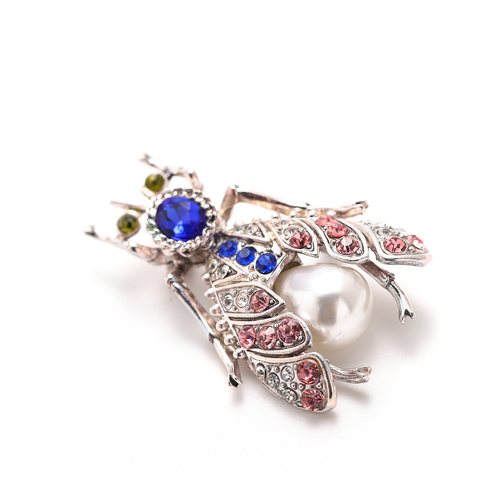 Animal Brooch Pins For Women Bling Rhinestone Bee Spider Brooches Dragonfly Brooches Pin Jewelry Wedding Party Bijoux Best Gift 2