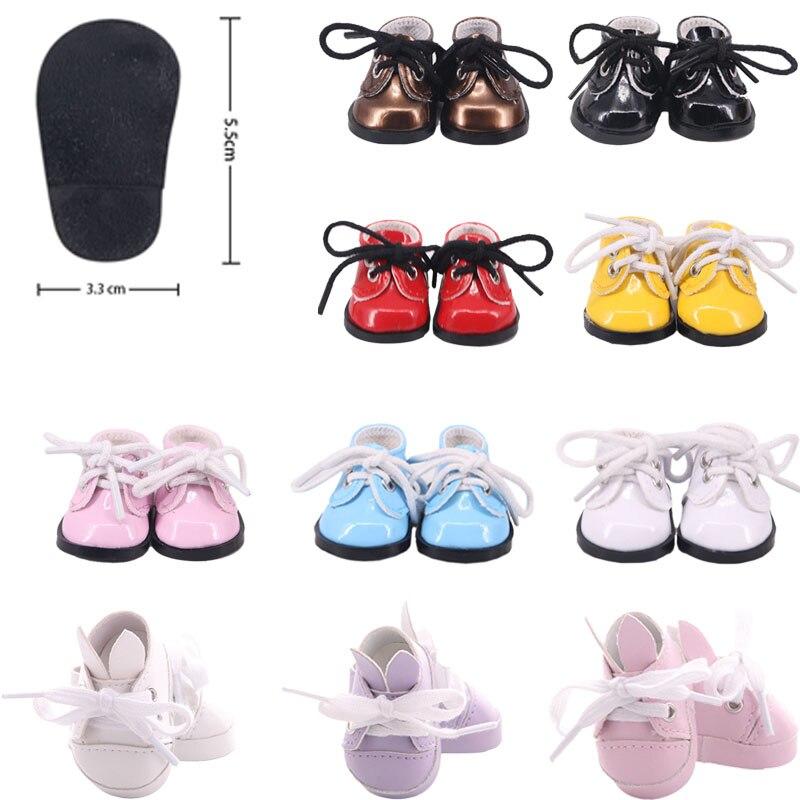 5 cm boneca sapatos bonito botas para 14.5 polegada boneca & paola & bjd & exo bonecas acessórios para brinquedos da menina presentes