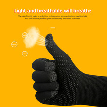 Touch-Screen-Gloves Sweatproof Gaming Breathable for Biking Cycling Anti-Slip Knit Women