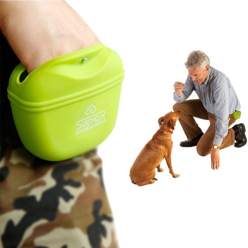 Outdoor Pet Training Pockets High-Quality Silicone Pet Snack Packs Dog Storage Pockets Pet Supplies