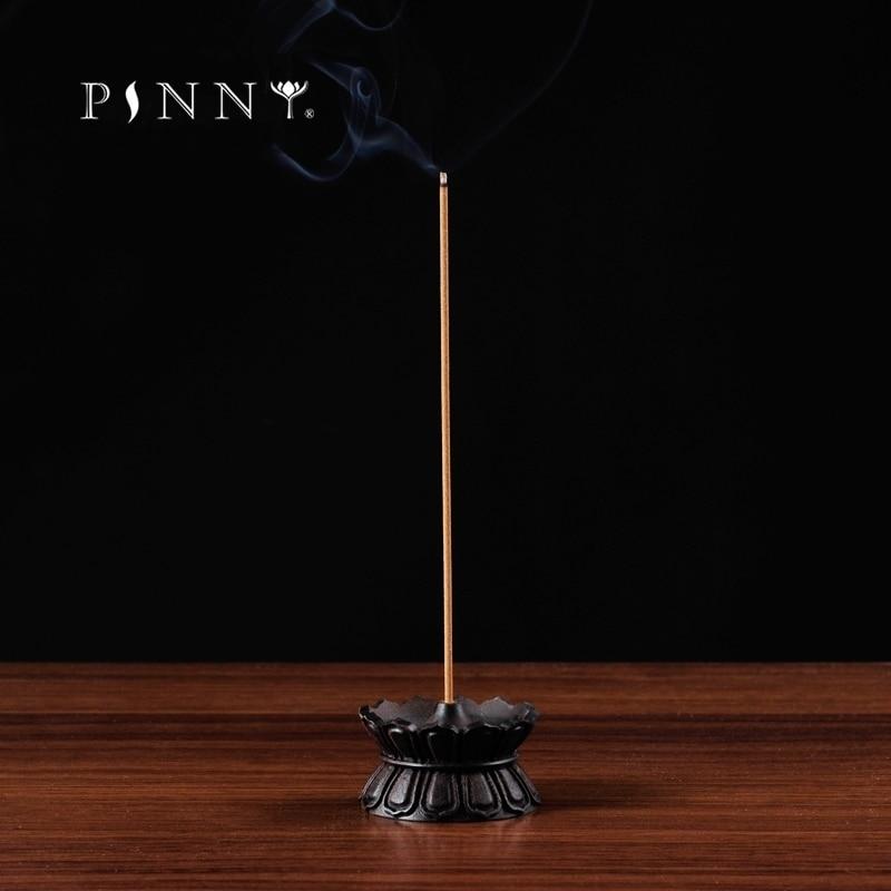 PINNY Υψηλής Ποιότητας Lotus Ξύλινο Θυμιατό Καυστήρες Σανταλόξυλο Βούδα Θυμίαμα Σπίτι Διακοσμήσεις Stick Censer Διαλογισμός Δωμάτιο