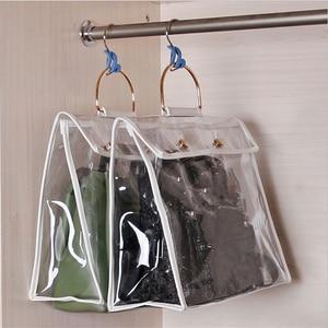 Подвесная сумка-Органайзер для шкафа-шкафа прозрачная сумка для хранения дверная стена прозрачная сумка для обуви с Сумка-вешалка