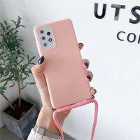 Cuero Cordón de Color caramelo cubierta de teléfono de TPU suave para Xiaomi Redmi Nota 10 9 Pro Max 9S 9A 9C 9T 8 7 6 Pro 8A 7A 6A 5A 5 Plus