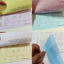 Book-Printing Paper-Receipt/bill-Book Invoice Carbonless/ncr Custom Buying Bulk 50-65g