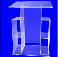 modern acrylic lectern podium pulpit transparent lectern pulpit modern decoration table furniture minister's desk plexiglass
