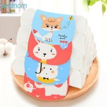 Warmom Baby Sweat Towel Cute Cartoon Animal Soft Nursery Towel Kids New Wipe Cloth Cotton Comfortable For Children Saliva Towel недорого