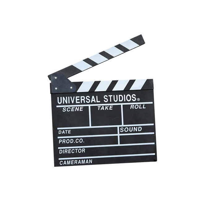 31*28 20*18 cm 큰 크기 감독 비디오 장면 Clapperboard TV 영화 클래퍼 보드 필름 슬레이트 컷 소품 배경 홈 인테리어