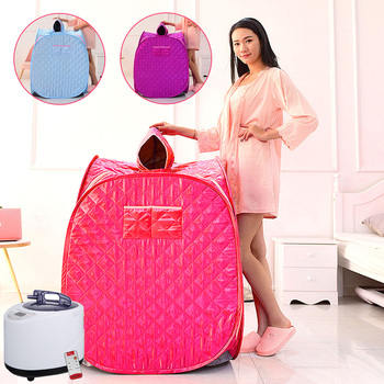 Portable Folding Steam Sauna SPA Room Tent Box without Steamer for One Person or Two People Weight Loss Full Body Slimming