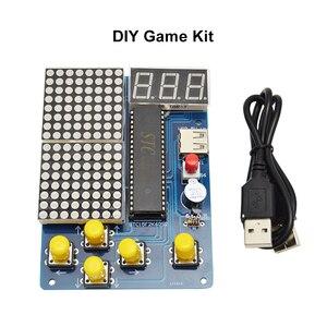 Image 2 - DIY Game Kit Retro Classic Electronic Soldering Kit , Tetris/Snake/Plane/Racing with Case