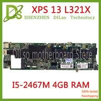 KEFU L321X motherboard FÜR Dell XPS 13 L321X Laptop Motherboard I5 2467M 4G DDR3L DA0D13MBCD1 Vollständig Getestet 100% arbeit-in Laptop-Hauptplatine aus Computer und Büro bei