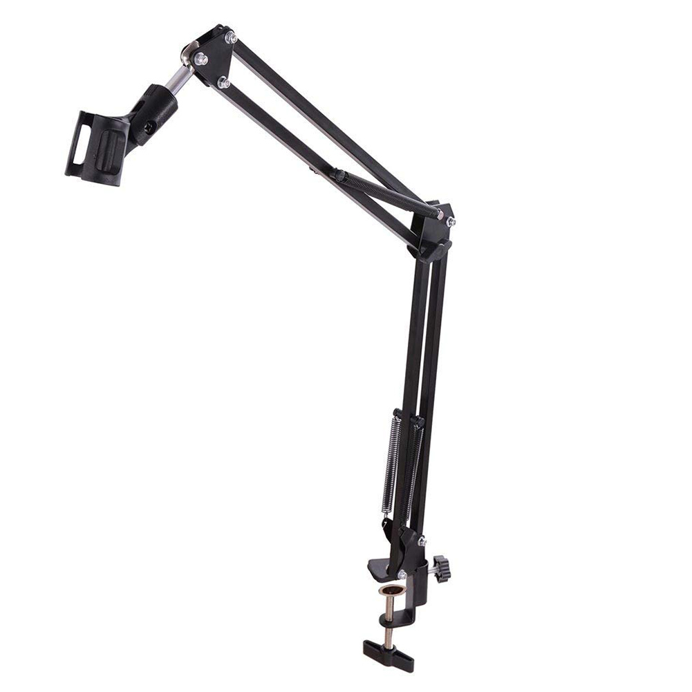 Professional Studio Recording Professional Holder Table Mounting Microphone Arm Stand Scissor Arm Broadcasting Microphone Clip