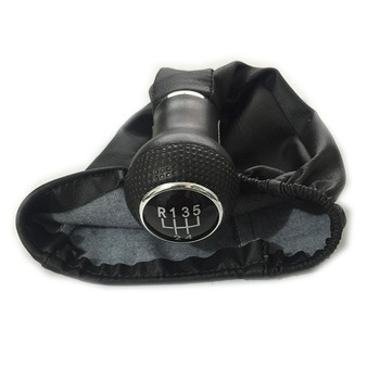 NEW 5 SPEED GEAR Shift KNOB WITH LEATHER BOOT For VW GOLF 3 MK3 VENTO 1992 1993 1997 1995 1996 1997 1998 T4