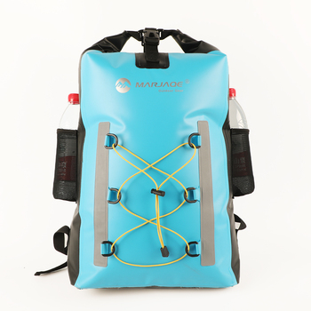 30L Sport PVC Waterproof Backpack Dry Swimming Beach Bag Bolsa Impermeable For Outdoor Swim Water Proof Bag Backpack Sporttas dry bag outdoor drift bag river tracing swimming travel beach snorkeling water proof bag 500d pvc cloth net waterproof backpack