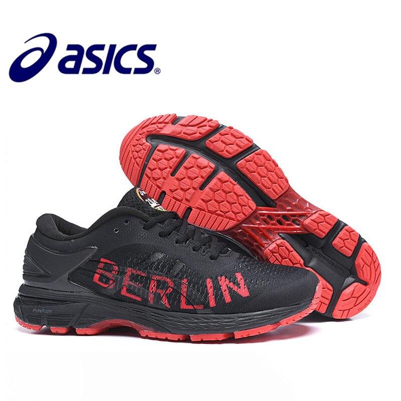 Original asics gel-kayano 25 tênis de corrida masculino esportes asics gel kayano 25 sapatos masculinos ao ar livre tênis de caminhada asics sapatos gel