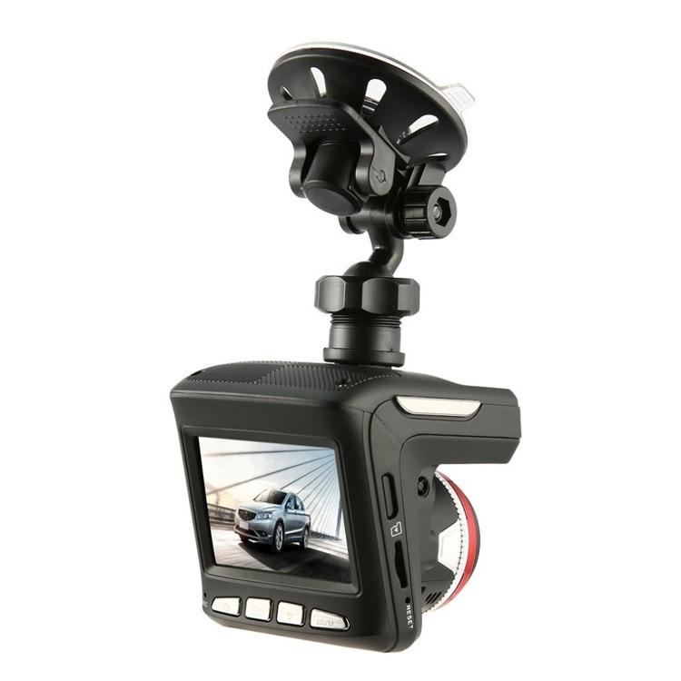 2 In 1 Anti Laser Rilevatore di Auto Dash Cam Car DVR Registratore Della Macchina Fotografica 140 Gradi Dashcam HD 720P Inglese e Russo di Voce