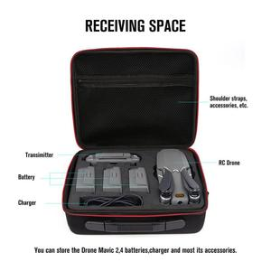 Image 5 - For Mavic 2 Carrying Case Hard Shell Storage Bag+8743 Low Noise Propeller+Drone Parking Apron Waterproof Pad For DJI Mavic 2 Pro