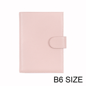 Moterm Genuine Leather Cover for Stalogy B6 Size Notebook Cover Diary Planner Journal Stationery Agenda Organizer with BigPocket 1