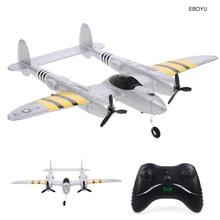 EBOYU FX-816 P38 RC Airplane 2.4GHz 2CH RC