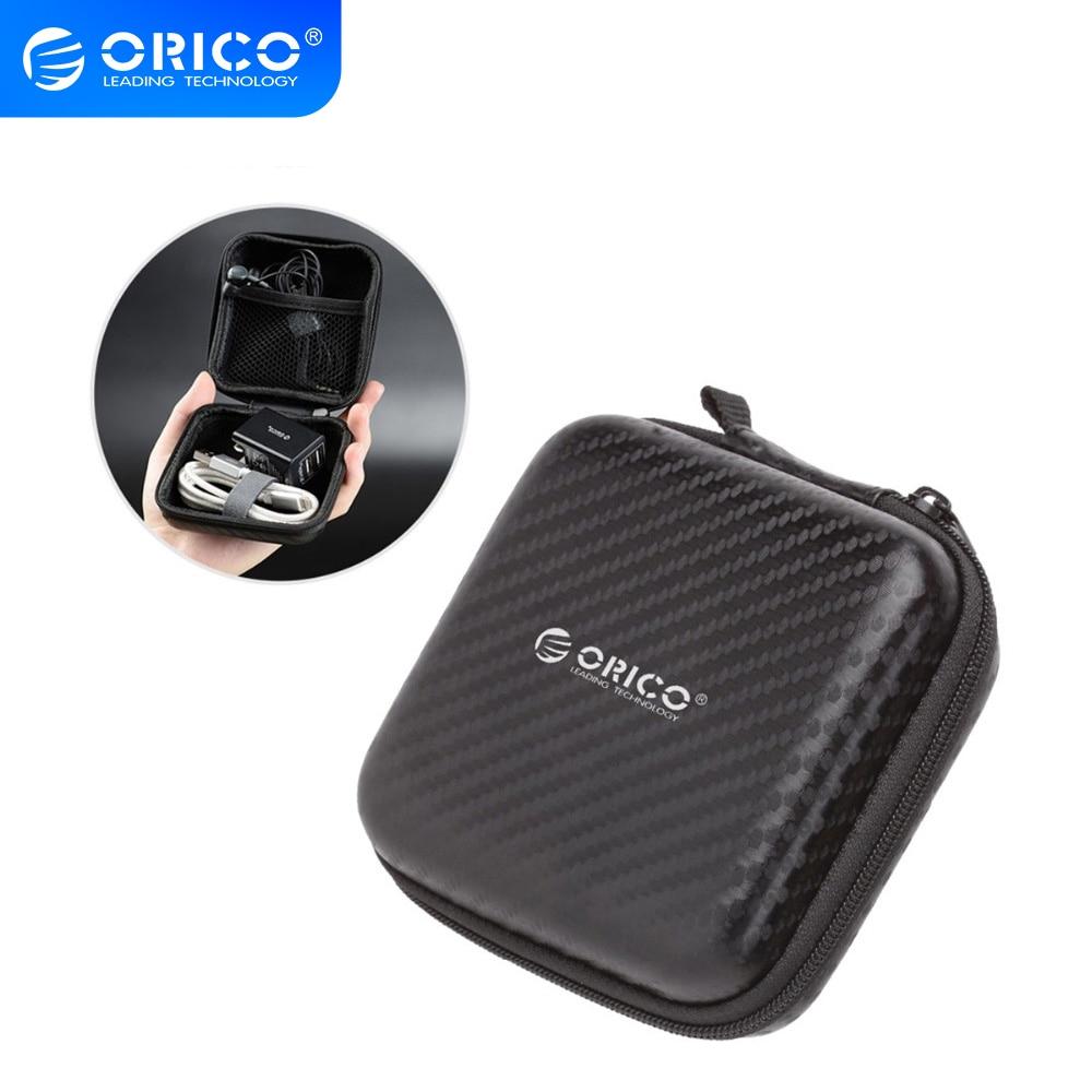 Чехол для наушников ORICO, водонепроницаемая портативная Защитная сумка для хранения наушников, органайзер, встроенный внутренний слой для usb кабеля, u диска|zipper boxes|headphone caseearphone case | АлиЭкспресс